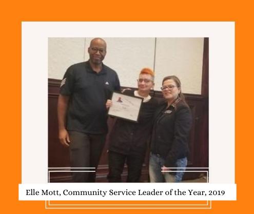 Elle Mott membership and award